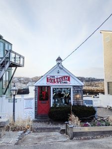 The insta-famous Ice Cream Store in Rockport, MA